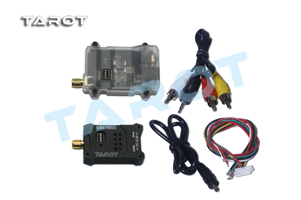 TL300N Tarot 5.8G Telemetry 600MW FPV Transmitter Receiver TX + RX for Multicopter FPV Photography new fr632 diversity 5 8ghz 32ch auto scan lcd a v receiver for fpv 5 8g tx transmitter