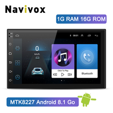 Navivox 2 Din Auto Lettore Multimediale Android 8.1 Car Stereo Universale Autoradio DVD GPS Bluetooth Per Volkswagen Nissan Toyota