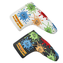 NEW Golf putter headcover PU Putter Cover protection balck white to choose free shipping