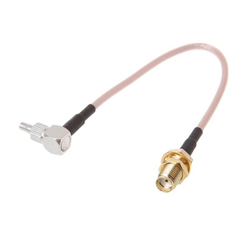 SMA Female To CRC9/TS9 двойной разъем RF коаксиальный адаптер RG316 кабель 15 см