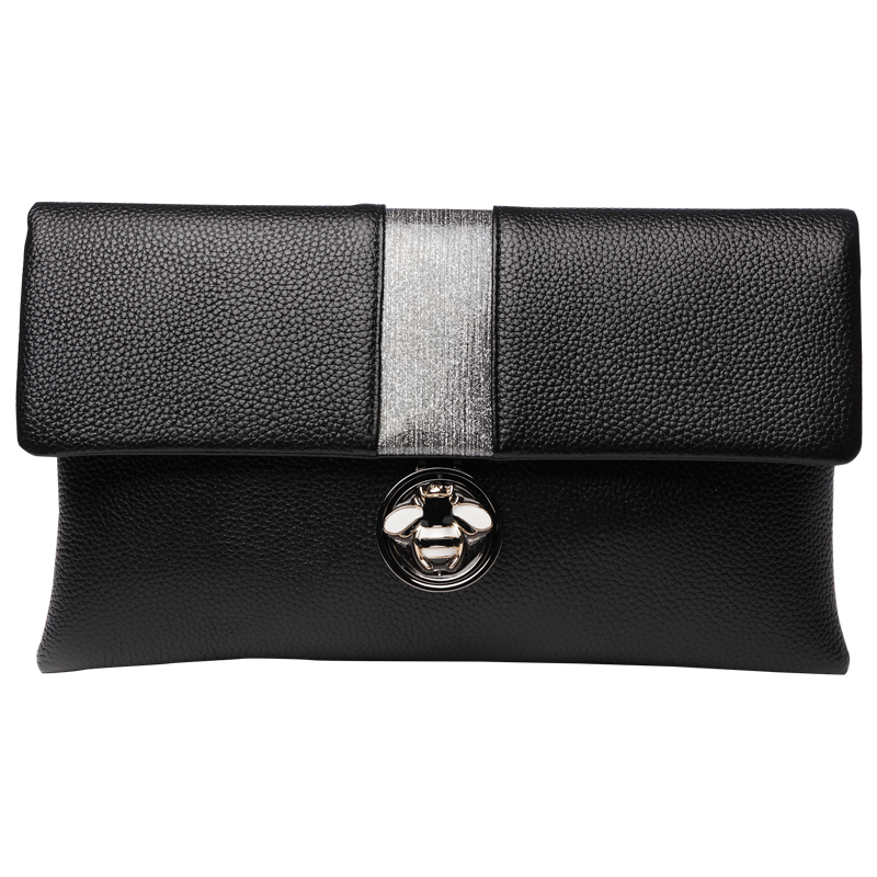Великолепные красочные алмазов кисточкой из натуральной кожи Для женщин кошелек сцепления Кошелек вечерняя сумочка на ремне сумки Crossbody Су... - 3