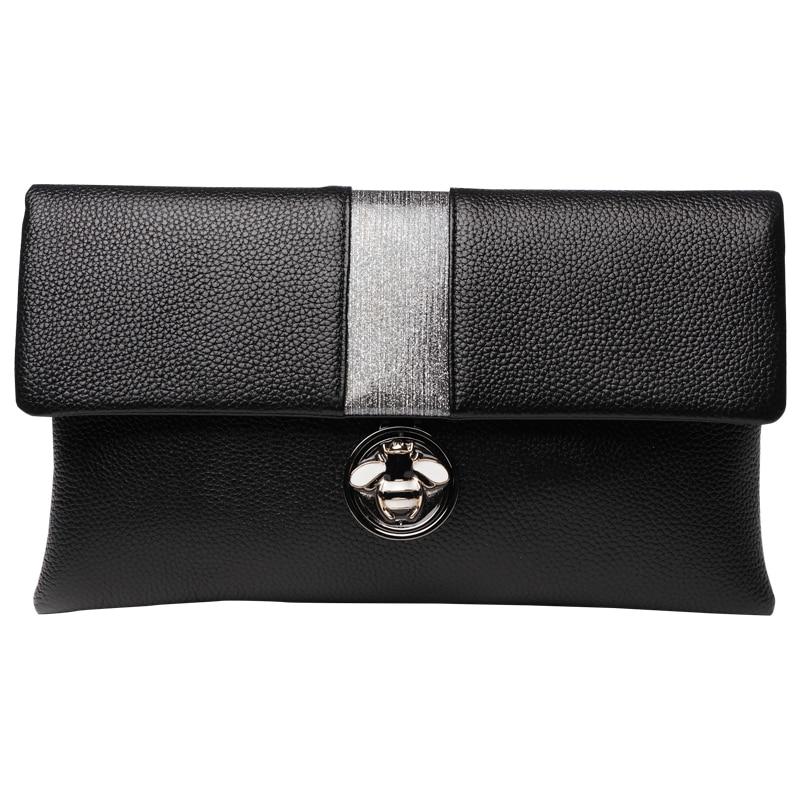 Gorgeous Colorful Diamond Tassel Genuine Leather Women Wallet Clutch Purse Evening bag Shoulder Handbag Crossbody Bag Wristlet - 3