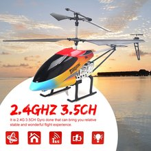 69136 68CM 2.4Ghz 3.5CH Alloy Anit-crashed Large RC Helicopter Drone Aircraft UAV with Gyroscope Light Christmas Gift Present