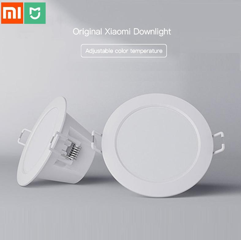 Xiaomi Mijia Smart Downlight Adjustable Color Ceiling Lamp Dimming White & Warm Light WIFI Mi Home App Smart Remote Control