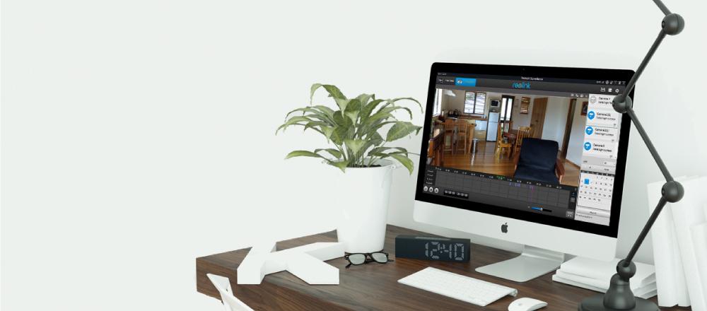 home camera system poe kit_playback