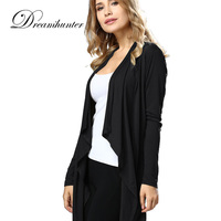Long Sleeved Open Cardigans Jackets For Women Autumn Summer European American Apparels Clothings Female Chaqueta Mujer