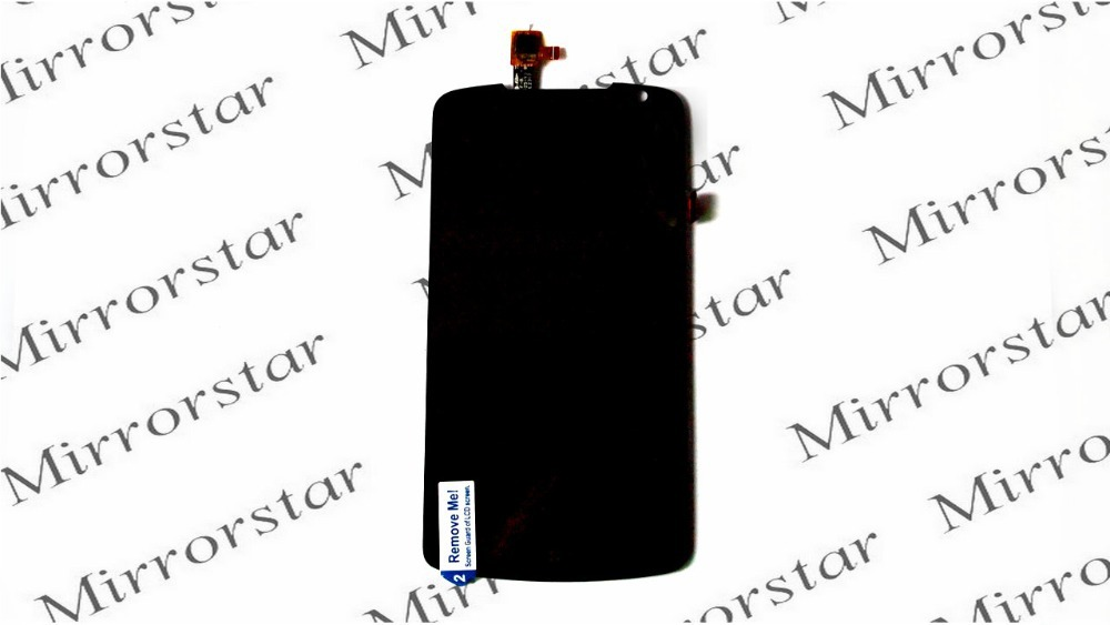 New LCD Display and Touch Screen Digitizer Assembly For Lenovo S920 Smart Cellphone Black