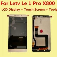 Высокое качество для LeTV LeEco Le 1 Pro Le One Pro X800 ЖК-дисплей Дисплей + Сенсорный экран планшета Ассамблеи Замена Интимные аксессуары
