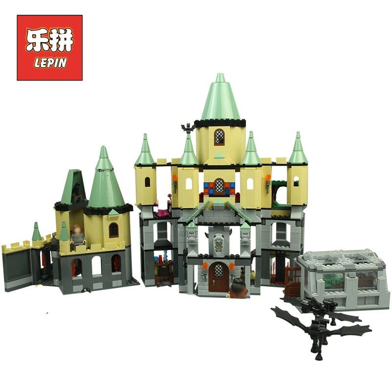 Lepin 16029 Movie Series the Magic Hogwort Castle Set Model Building Blocks Bricks Kits DIY Assembled Toy 5378 Children Gift