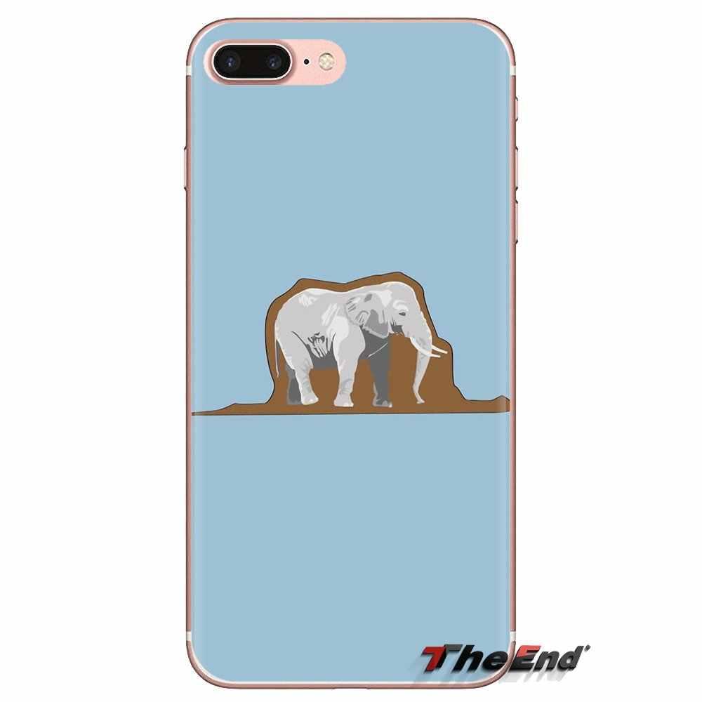 Funda de silicona para teléfono Pequeño Príncipe elefante para HTC One U11 U12 X9 M7 M8 A9 M9 M10 E9 Plus deseo 630, 530, 626, 628, 816, 820, 830