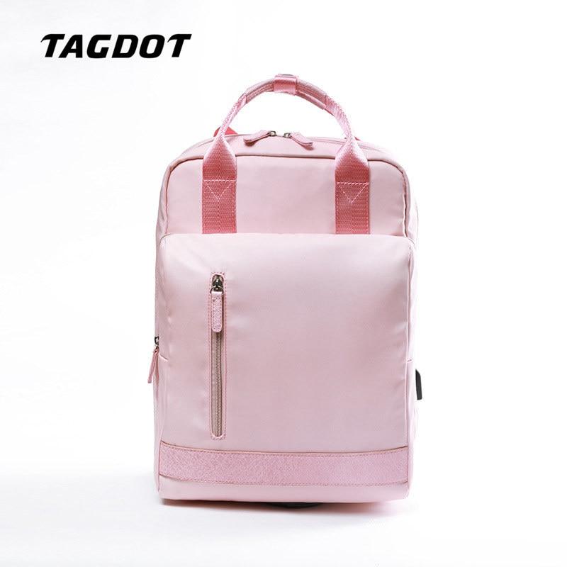 Tagdot Brand Lovers School Backpack Girl Art students bag Computer bags for Women Waterproof Laptop bag