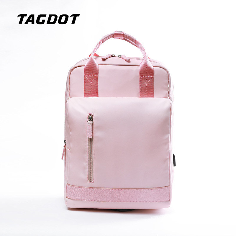 Us 32 42 31 Off Tagdot Brand School Backpack Art Students Bag Computer Bags For Women Waterproof Laptop 15 6 14 13 3 12 Inch In