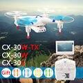 Оригинальный Cheerson FPV Quadcopter CX-30W CX-30W-TX CX-30S реальном времени вертолеты 6-Axis 4CH дроны wi-fi HD камера против H107D H11D