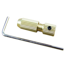 Clamp Fixture Chuck 2.0mm Brass Electric Motor Shaft Clamp Fixture Chuck For 0.8mm-1.5mm Drill Micro Drill Bit цена