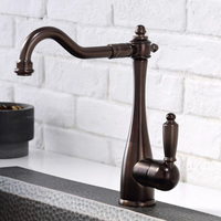 Free Shipping 2017 New Arrival Premium Quality ORB Faucet Kitchen Sink Mixer Faucet Oil Rubbed Bronze