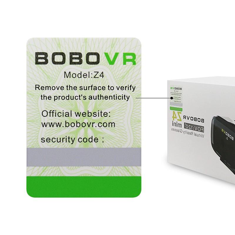 Original BOBOVR Z4 mini 3D VR glasses virtual reality google Cardboard Helmet Headset Stereo BOBO VR BOX for 4-6'' Mobile Phone 9