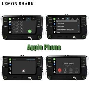 Image 4 - Yeşil Android otomatik Carplay Noname RCD330G RCD330 artı yeşil düğme araba radyo 6RD 035 187B Skoda Octavia Fabia Superb yeti