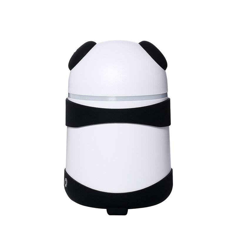 150 ミリリットルかわいい漫画アロマディフューザー超音波パンダ空気加湿器デュアルミストメーカーミニ自宅のデスクトップ空気清浄機米国のプラグイン -