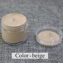 beige - Leather coloring paste,leather bag,sofa, shoe,clothing,refurbished to change color, handsel a sponge rub and gloves