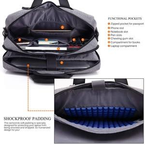 Image 2 - Large Laptop Bag For Macbook Air Pro 17.3,15.6 inch Laptop Backpack Men Travel Luggage Bag Briefcase Shoulder Messenger Bags