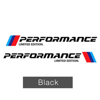 2x M Performance Limited Edition Side Sticker M Sport For BMW X3 X5 X6 Decors F2 image