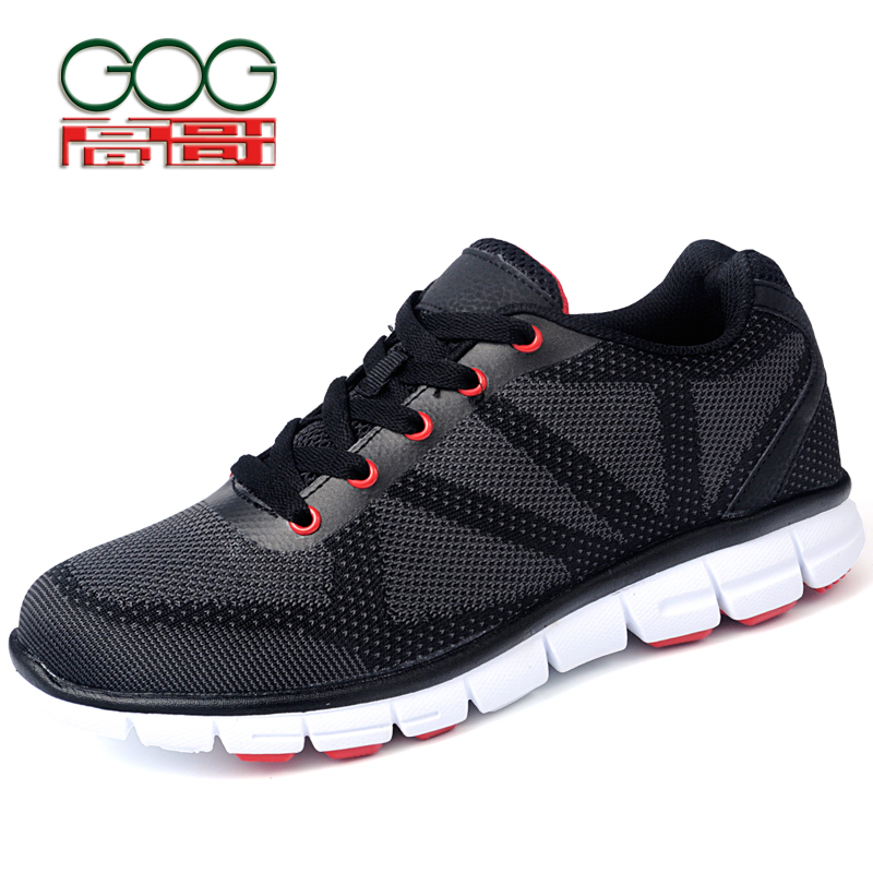 GOG New Fashion Height Elevator Shoes Men Increase Height 6cm/2.36 inch Shoes for Taller and Confidence цены онлайн