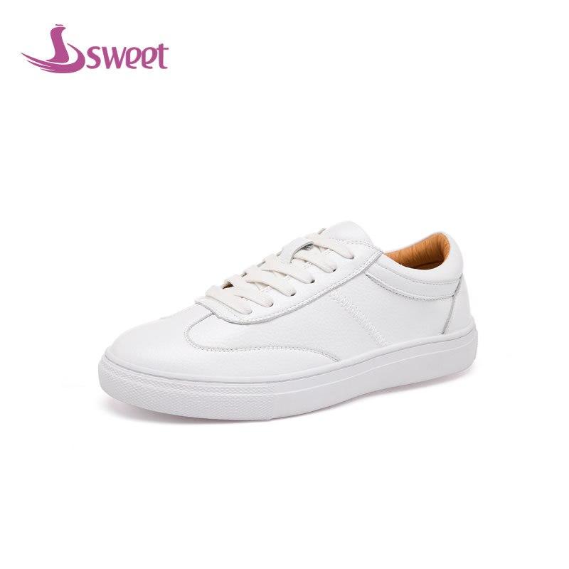édes márka női cipő nő lakások tavaszi / őszi alap mikroszálas csipke-kerek kerek lábujj szilárd varrás LeisureC3C
