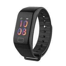 RAVI 2018 Smart Bracelet Watch F601 Smartband Heart Rate Blood Pressure Monitor Sports Fitness Tracker Wrist Band for Men Women