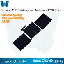 """GIAUSA محمول A1713 بطارية لأبل ماك بوك برو 13 """"بوصة A1708 MLL42CH/A MLUQ2CH/A 4781mAh 54.5Wh 11.4 فولت"""