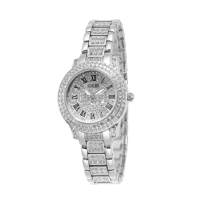 GEDI Luxury Quartz Watch Women Clock Fashion Diamond Alloy Strap Waterproof Ladies Wristwatch 2019 Female Watches reloj mujer | Fotoflaco.net