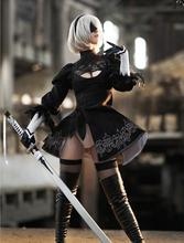 Athemis 2B 9S NieR: Automata YoRHa No.2 Type B Cosplay Costumes School Uniforms For Cosplay Girls Costume Made Full Set AR-7SG