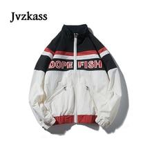 Jvzkass 2018 new neutral wild student loose Korean version hip hop bf retro autumn womens jacket Z256