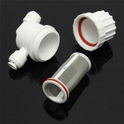 Purificateur d'eau Frontale 2 Points Rapidement Ramasser Micro Filtre Filtre de Treillis métallique D'acier Inoxydable de Pièces D'appareils Ménagers
