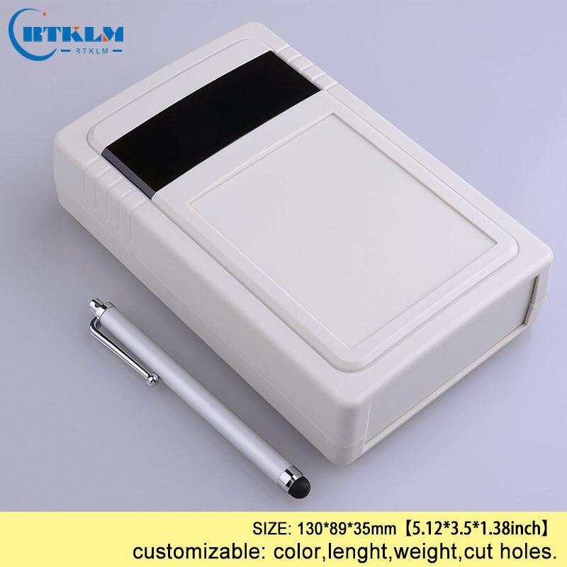 Caja de conexiones POWERTOOL IP65 blanco carcasa impermeable para instrumentos caja de proyectos el/éctrica ABS para proyectos electr/ónicos unidades de fuente de alimentaci/ón 1 pieza, gris