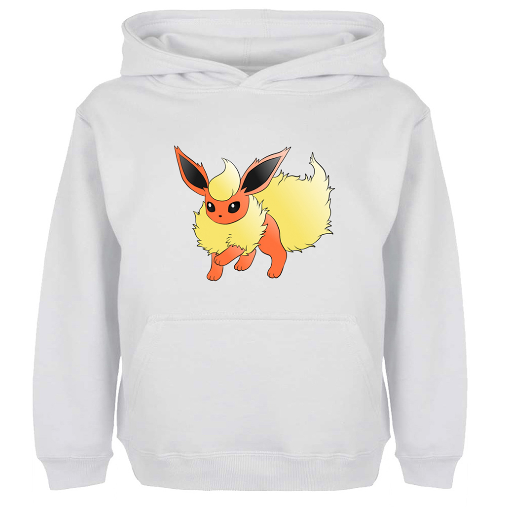 Japanese Cosplay Pokemon Flareon Hoodie Men Women Boy Girl Harajuku Cotton Casual Unisex Sweatshirts Multi Color Anime Jackets