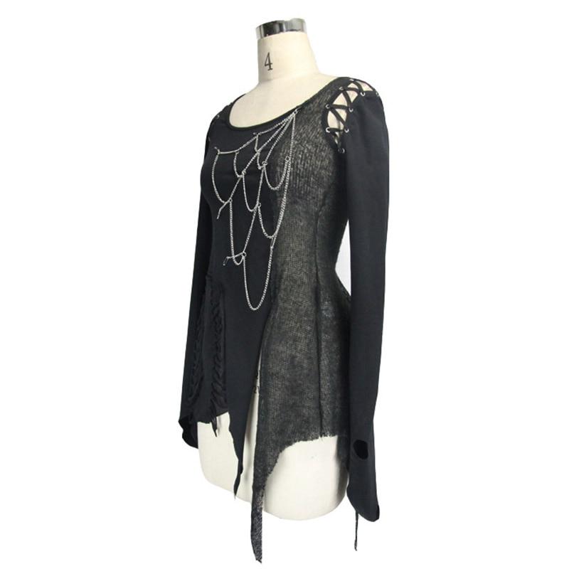 Steampunk Կանացի շապիկներ Gothic Asymmetric Flare - Կանացի հագուստ - Լուսանկար 5