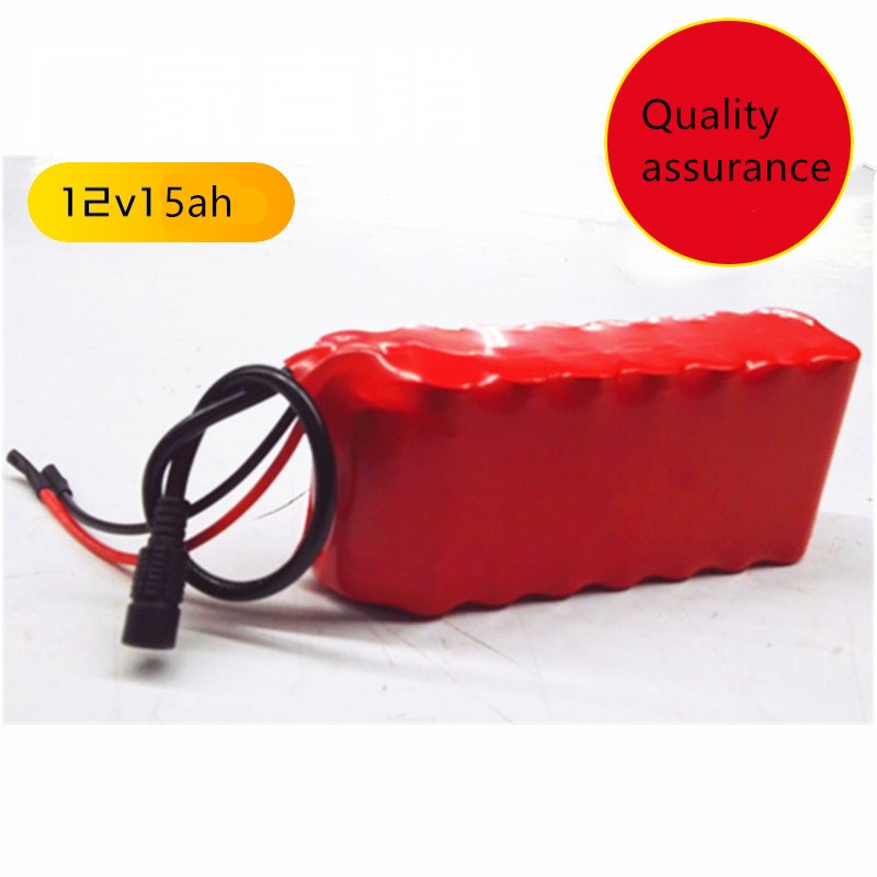 цены 12v Rechargeable batteries LED lamp Li-ion Battery 11.1v 15000mAh with 1A charger