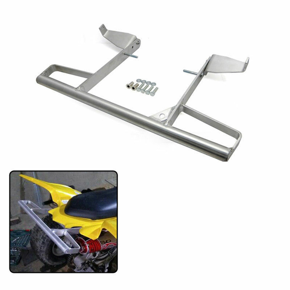 KEMiMOTO Aluminum Wide Grab Bar Rear Pasanger Grab Bar For YAMAHA RAPTOR 700R 700 R 700R SE ALL YEARS