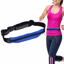 Quick-Dry Unisex Running Waist Bag for Mobile Phone Gym Bags High Elastic Waist Belt Sports Entertainment Multifunction Bags