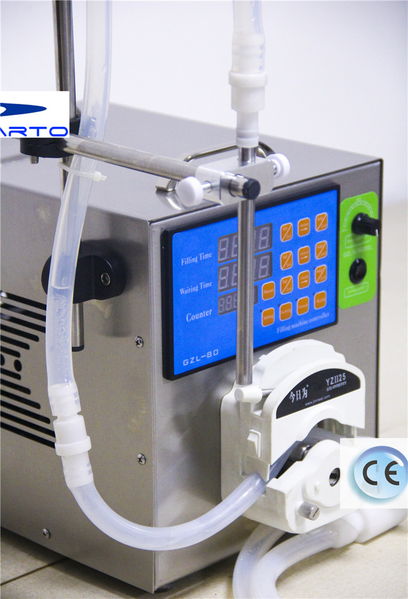 GZL-80 Sinparto electric nail polish filling machine e-liquid filling machine peristaltic pump with 1-4000ml/min for water