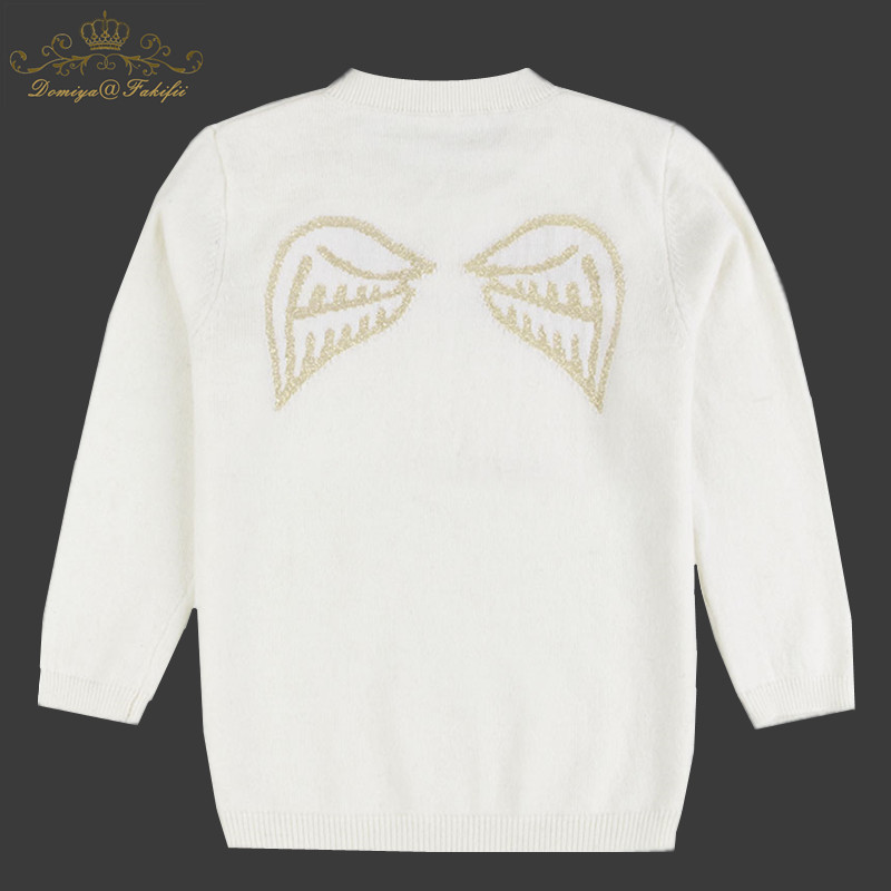 Girls Sweater Knitted Baby Clothing 2018 Winter New Children Sweater for Girls Pullover Rabbit Fur Outerwear Kids Knitwear 2-10Y christmas knitted sweater cardigan for girls autumn winter winter kids pullover deer clothing children sweater 10 years 12 14 page 2