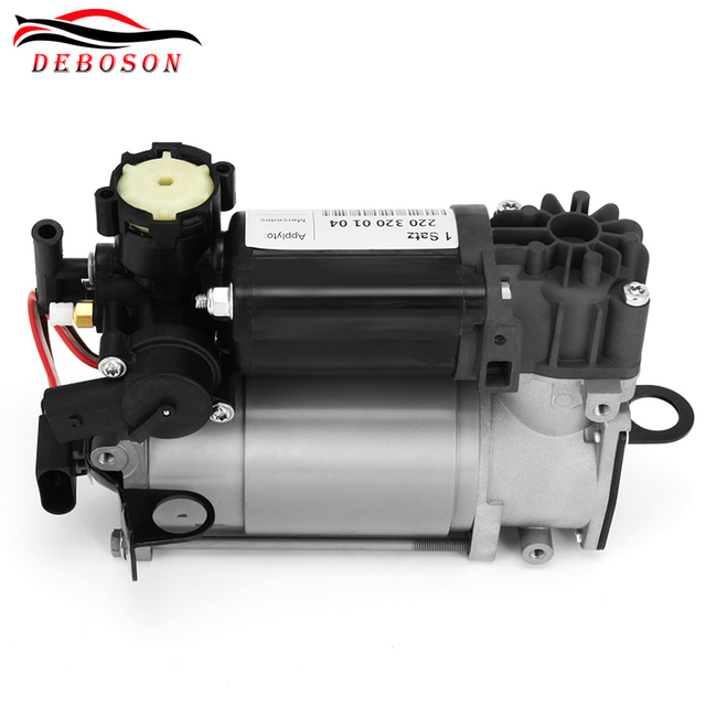 Air suspension compressor for Mercedes W220 S-Class W211 W219 AMG 2113200304 2203200104