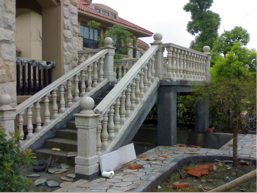 stone railings,Marble pillar, railings,handrails,porch ...