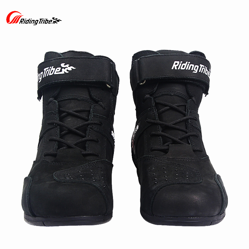 Riding Tribe Motorcycle Anti fur Boots Moto SPEED Motorbike Boot motorcycle short protective gear motorboats
