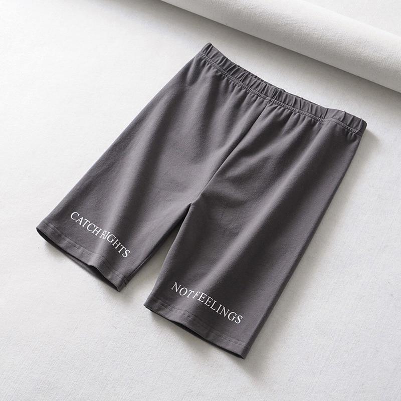 Summer biker shorts 2019 High waist shorts women elastic waist skinny fitness korean casual sexy short
