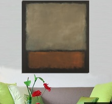 Mark Rothko Still life oil Painting Drawing art Unframed Canvas design iron hologram wall