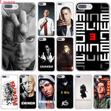 Lavaza Hip Hop rappeur Eminem rap étui pour iphone XR XS X 11 Pro Max 10 7 8 6 6S 5 5S SE 4S 4 couverture(China)