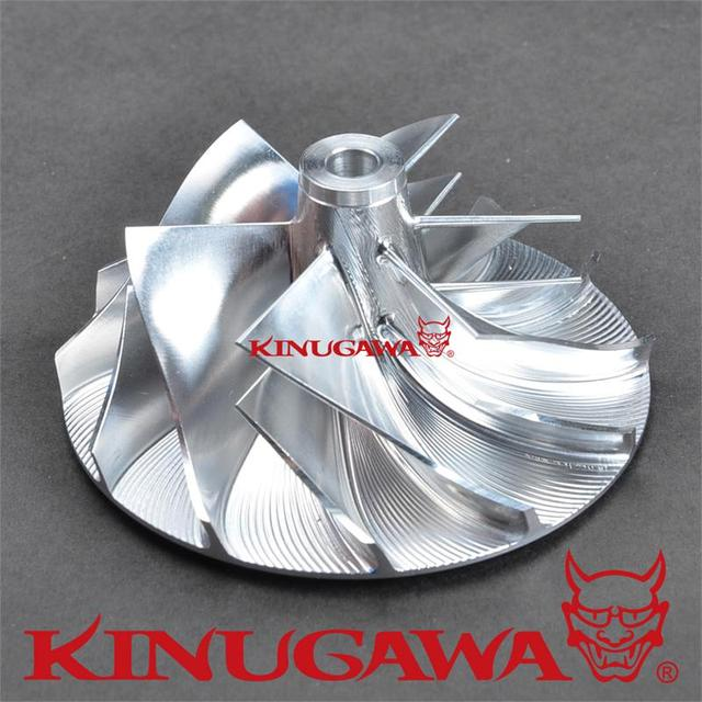 Billet Turbo Compressor Wheel KKK K16 K24 5324-970-7401 / 5324-970-7400 6+6 blade # 405-99011-611
