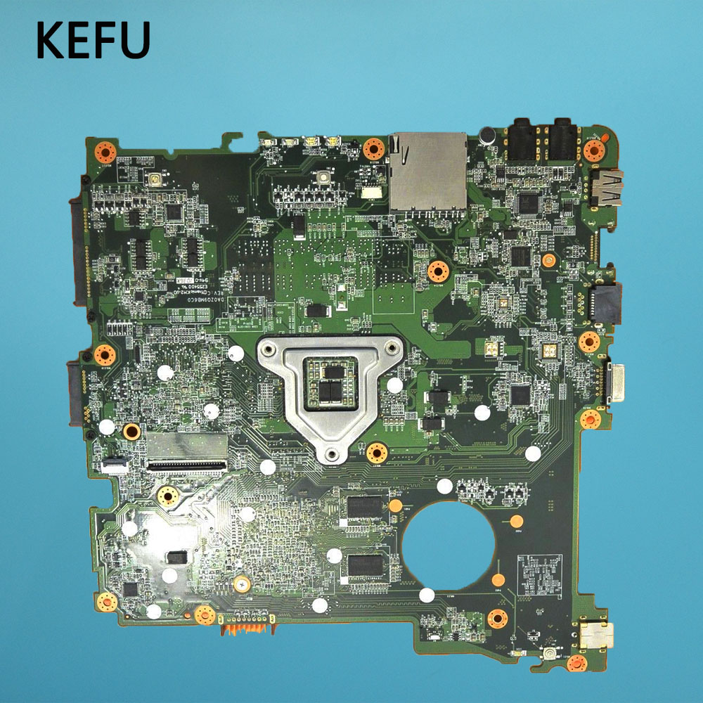 KEFU DA0ZQ9MB6C0 Laptop Motherboard For Acer Aspire 4738 4738G 4738Z 4738ZG Mainboard With Graphics Card Chips