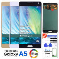 Super Amoled LCD For Samsung A5 A500 LCD Display Touch Screen Digitizer Assembly A500FU A500H lcd With Free Tools 100% Tested